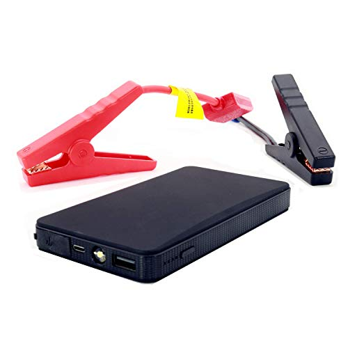Cheapest Prices! iMeshbean Car Jump Starter, 12V 20000mAh Mini Portable Multifunctional Car Jump Sta...