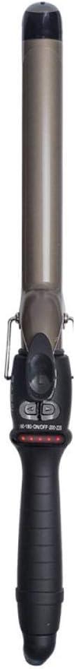 Calentamiento Rápido Iron Wave Curler Termostato de cinco lámparas profesional de iones negativos de cerámica estilo salón de moda rizador, 32 mm Rizador Pelo Planchas Rizadoras Cerámica y Titanio