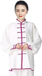 Tai Chi Clothing Women,Men Tai Chi Clothing Women Men Silk Cozy Breathable Tai Chi Uniform Kungfu Clothes Martial Arts Clo...