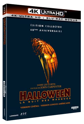 Halloween - 4K Ultra HD [Edition Collector] [4K Ultra HD + Blu-ray - Édition Collector 40ème Anniversaire]