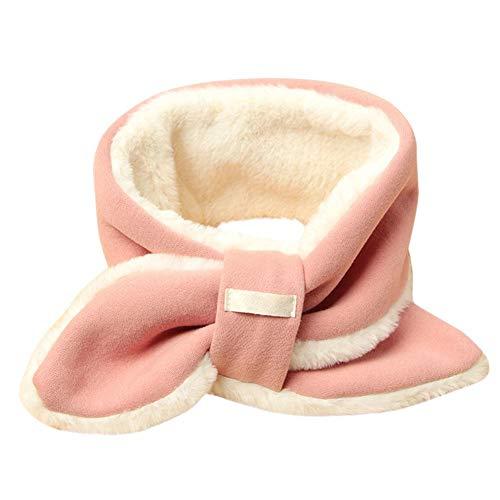 Seasons Shop Kinder Einfarbig Baumwolle Schal Koreanischen Stil Baby Künstliche Kaninchenfell Schal Hals Warme Winter Schal Für Jungen Mädchen Kinder