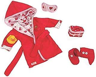 ملابس رداء الكرز الفاخر من أور جينيريشن - ملابس وإكسسوارات للدمى مقاس 18 بوصة - للأعمار من 3 سنوات فما فوق