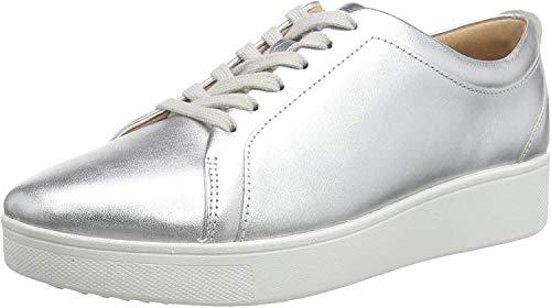 Fitflop Damen Rally Sneaker, Silber (Silver 011), 39 EU