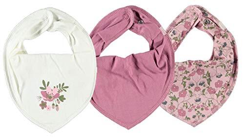 NAME IT Halstuch 3er Set Baby Halstücher Dreieckstücher ~ verschiedene Sets (Blumenwiese)