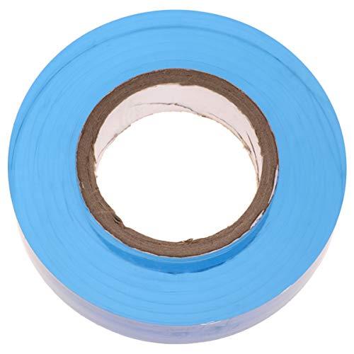 iplusmile 1 Rol Van 200 M Rekfolie/Wikkel Verpakking Wikkelfolie Zelfklevende Industriële Sterkte Heldere Rekfolie Slijtvaste Pallet Krimpfolie (Blauw)