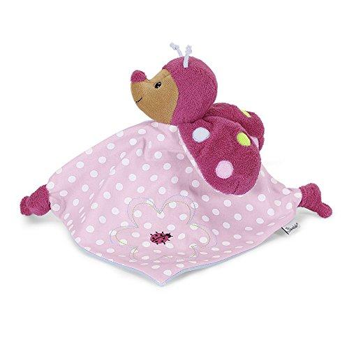 Sterntaler Schmusetuch Katharina, Alter: Für Babys ab dem 1. Monat, Größe: 29 cm, Farbe: Pink