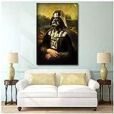 sjkkad Star Wars Darth Vader Humor Dekorative Malerei Mona