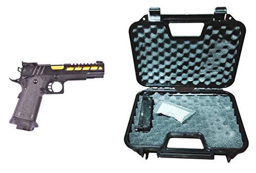 GOLDEN EAGLE Pistola Gas Full Metal con maletín