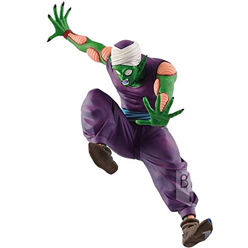 POP Bic Big Devil Piccolo Group Stand-up Products Dragon Ball Z Competitors Hand-made Dolls Hand-made, Toy Statue Model Desktop Decoration, PVC Collection Craft Decoration Gift Is about 15CM High image