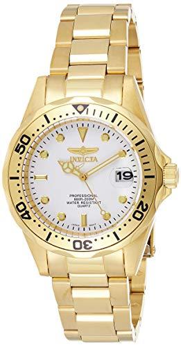 Invicta 8938 Pro Diver Reloj Unisex acero inoxidable Cuarzo Esfera blanco