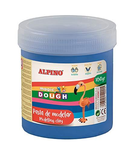 Pasta MODELAR Alpino Magic Dough 160 gr Azul