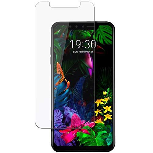 disGuard Schutzfolie für LG G8s ThinQ [2 Stück] Kristall-Klar, Bildschirmschutzfolie, Glasfolie, Panzerglas-Folie, Bildschirmschutz, extrem Kratzfest, Schutz vor Kratzer, transparent