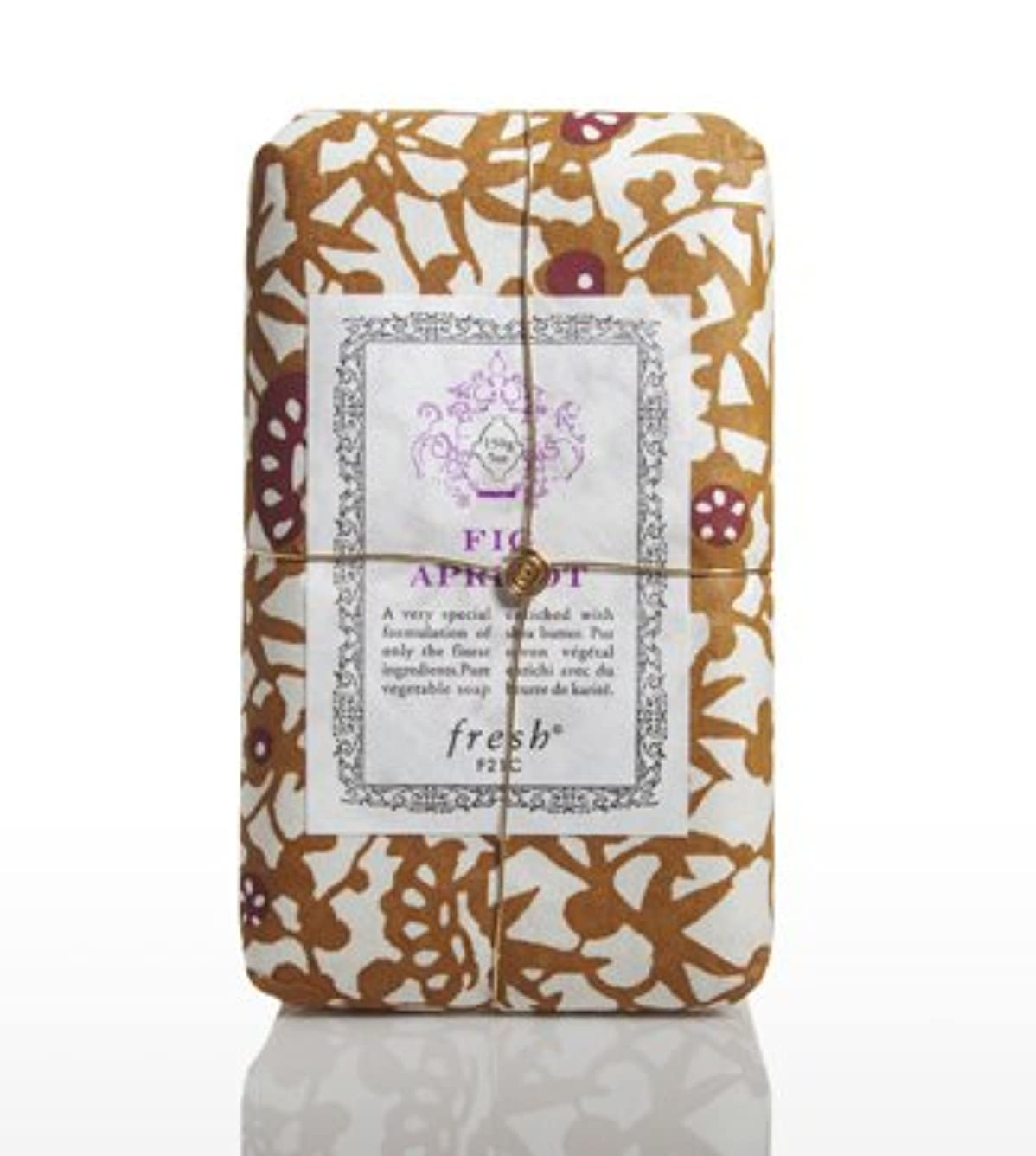 鋼縫い目ボードFresh FIG APRICOT SOAP(フレッシュ フィグアプリコット ソープ) 5.0 oz (150gl) 石鹸 by Fresh