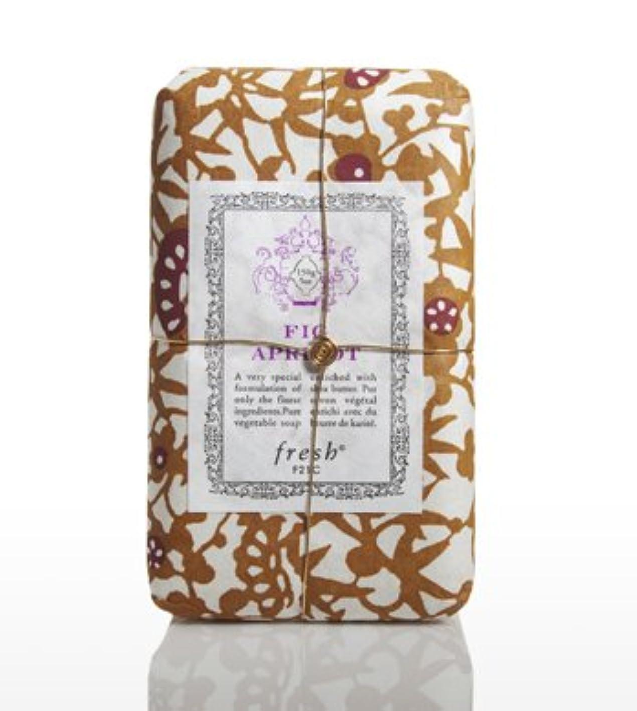 みすぼらしいたまに解任Fresh FIG APRICOT SOAP(フレッシュ フィグアプリコット ソープ) 5.0 oz (150gl) 石鹸 by Fresh