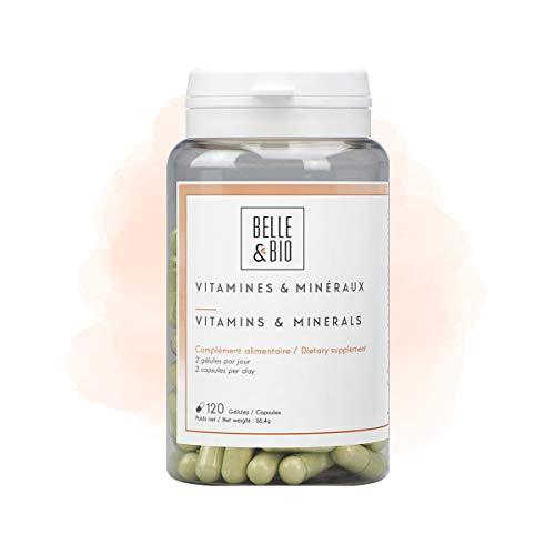 Belle&Bio Vitamines/Minéraux Vitamines A/B/C/E Anti-Fatigue Fabriqué en France