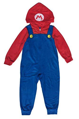 AME Super Mario Boys Costume Union Suit Pajama