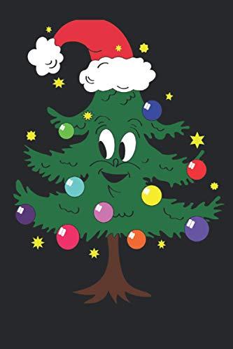 Der Lustige Weihnachtsbaum: Planer Tagesplaner Familienplaner Planer A5 120 Seiten Als Geschenk für Weihnachten, Geburtstag oder Neujahr