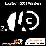 COREPAD Skatez PRO 165 Ersatz Mausfüße für Logitech G502 Lightspeed Wireless