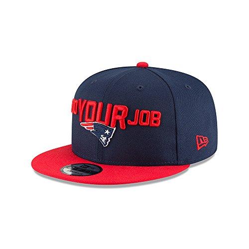 New Era New England Patriots 2018 NFL Draft Spotlight Snapback 9Fifty Adjustable Hat