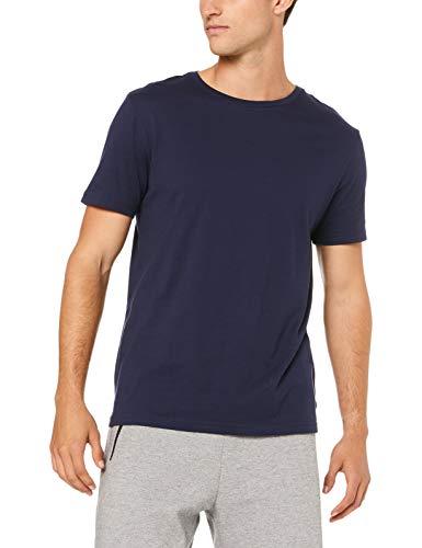 Tommy Hilfiger Herren T-Shirt Kurzarm CN Tee SS 2er Pack UM0UM01030-409 Blau L