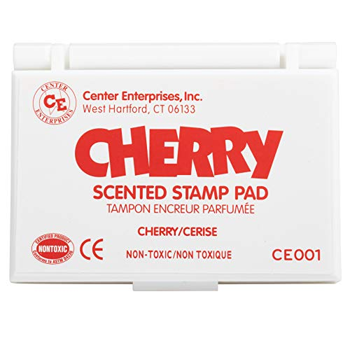 Center Enterprises Inc. Scented Stamp Pad, Cherry/Red
