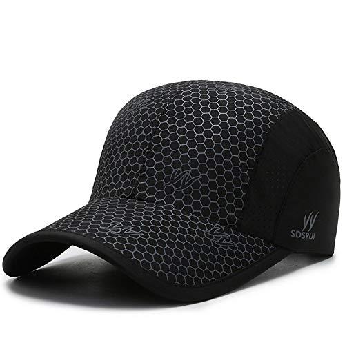 Clape Baseballkappe Faltbare Schirmmütze UV Schutz Baseballmütze Golf Snapback Cap Damen Herren
