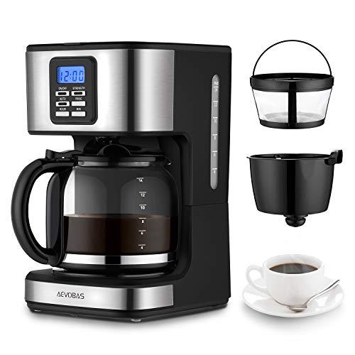 aevobas Máquina de café Americano, 900W Máquina de café eléctrica de...