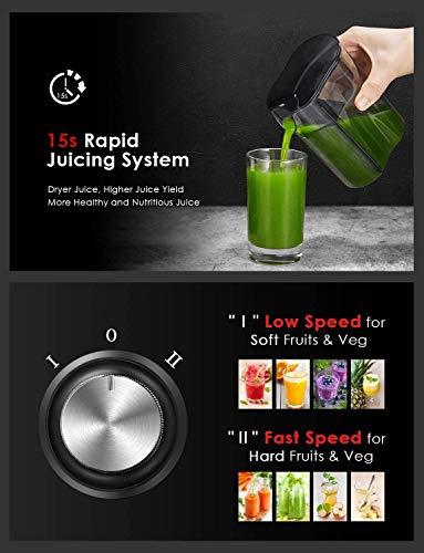 Licuadoras Para Verduras y Frutas, Aicook 600W