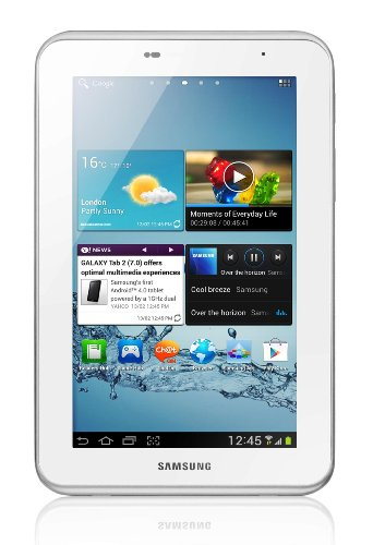 Samsung Galaxy Tab 2 7inch Tablet - White (8GB, WiFi, Android 4.0)