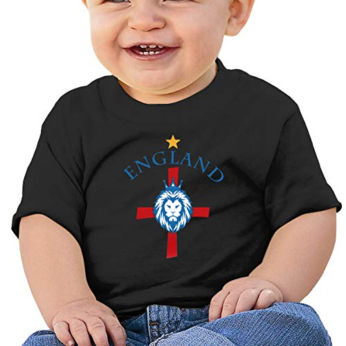 Cml519 England World Cup Soccer Baby T-Shirt,Baby T Shirts 6-24 Months