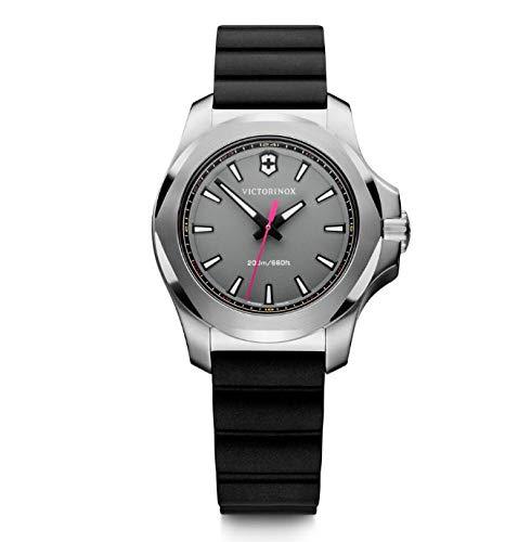 Victorinox Damen Herren I.N.O.X. V - Swiss Made Analog Quarz Edelstahl Uhr 241881