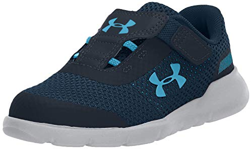 Under Armour Baby Infant6 Sneaker, Academy Blue (403)/Mod Gray, 5K
