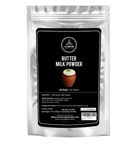 Naturevibe Botanicals Butter Milk Powder , 2lbs   Keto Friendly (32 ounces)
