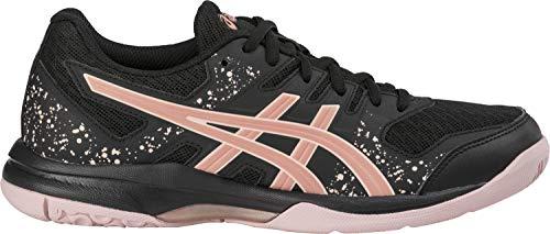ASICS Gel-Flare 7, Zapatillas de Atletismo para Mujer, Black Rose Gold, 40.5 EU