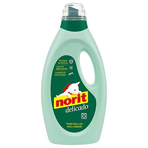 NORIT detergente máquina líquido delicado botella 37 lv