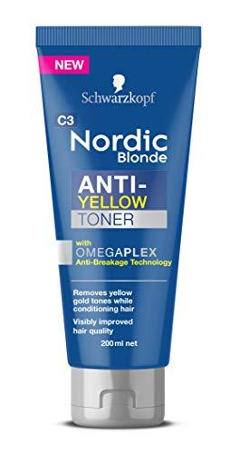 Schwarzkopf Nordic Blonde Anti-Yellow Toner 200ml