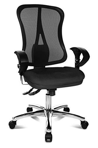 Topstar Head Point SY Chaise de Bureau Ergonomique avec accoudoirs Noir