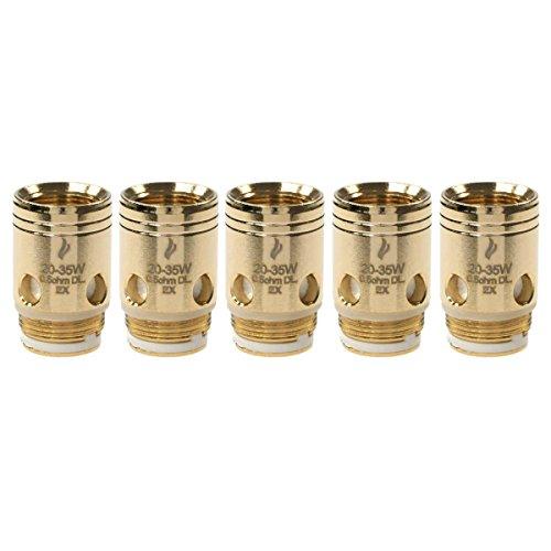 Preisvergleich Produktbild Joyetech EX Series Coils (0, 5 Ohm),  Nickel-Chrom NiCr,  Riccardo Verdampferköpfe für e-Zigarette,  5 Stück
