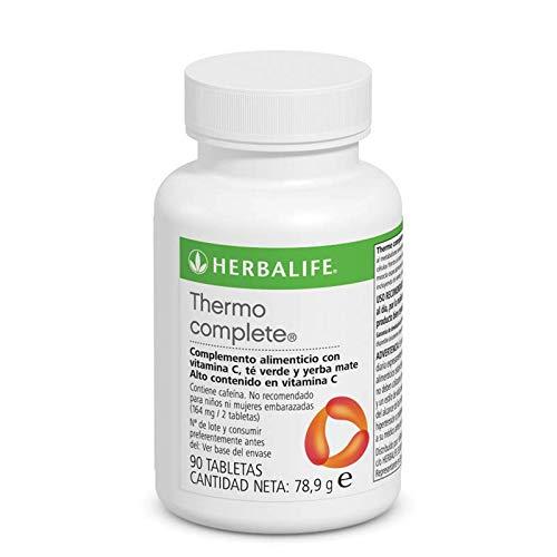 Complemento Alimenticio Natural Thermo Complete con Vitamina C y Sabor a Té Verde y Mate