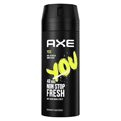 AXE You - Desodorante Bodyspray para hombre, 48 horas de protección, 150ml