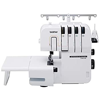 Brother ST4031HD Serger Strong & Tough Serger 1,300 Stitches Per Minute Durable Metal Frame Overlock Machine Large Extension Table 3 Included Accessory Feet
