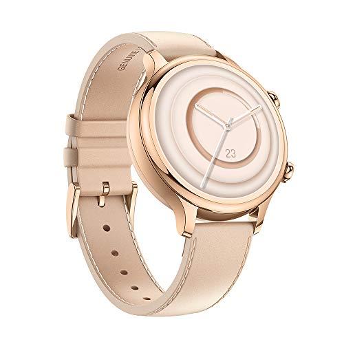 Ticwatch C2 Plus 1 GB di RAM Smartwatch Pagamenti NFC IP68 Impermeabile 1,3 Pollici Display AMOLED GPS Incorporato Fitness Cardiofrequenzimetro Google Assistant Compatibile Android e iOS Oro Rosa
