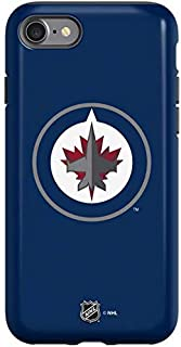 Skinit Pro Phone Case Compatible with iPhone SE - Officially Licensed NHL Winnipeg Jets Logo Design