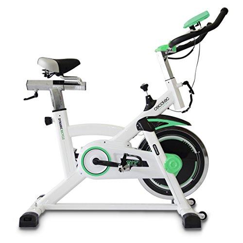 Cecotec Bicicleta Indoor Extreme 20. 20kg Volante inercia, Pulsómetro, Pantalla LCD, Resistencia Variable,...