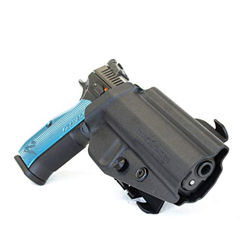 Priority 1 Holsters Outside The Waistband Holster for CZ Shadow 2 - Kydex OWB Holster