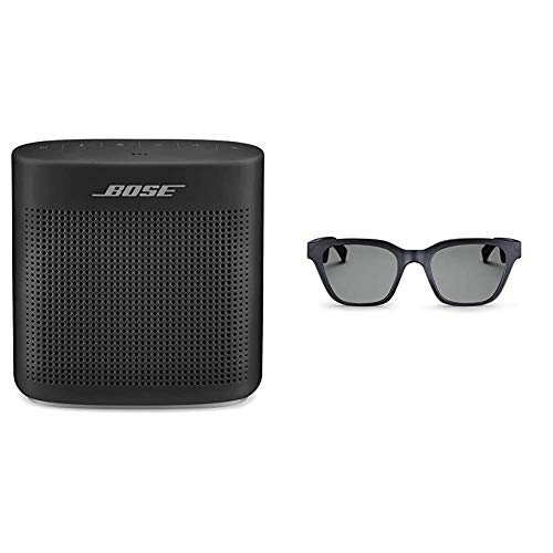 Bose SoundLink Color Bluetooth Speaker II - Black + Bose Frames Audio Sunglasses, Alto (S/M)