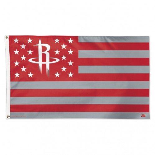 Wincraft Houston Rockets NBA American Flag 3 x 5 Foot