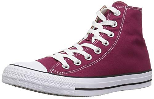 Converse Chuck Taylor All Star, Unisex-Erwachsene Hohe Sneakers, Rot (Weinrot), 37 EU EU