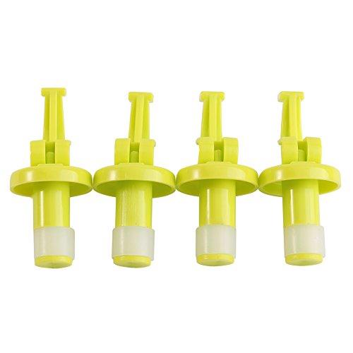 ROSEBEAR Utensilios de Cocina Tapas de Silicona para Botellas de Vino Tapones de Vino Reutilizables Sellador Cubre Herramientas de Cocina 2 Uds