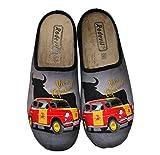 Zapatillas cómodas Andar por casa Bandera España - Viva España (Numeric_43)